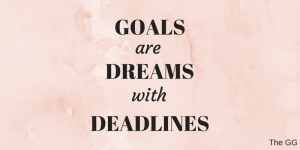 New month. New goals.