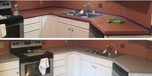 DIY Kitchen Countertop Makeover