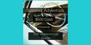 $500 Summer Adventure Giveaway